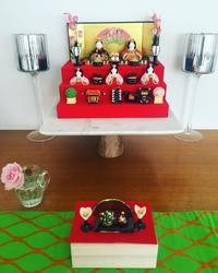 我が家の、ミニミニ雛壇ととうきで - 黒豆日記