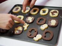 ハートのクッキーとチョコチップロール - パンとお菓子と美味しい時間 (パン教室ココット)