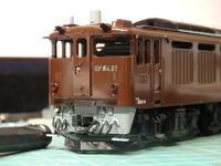 アクラス改のEF64 37クリアー塗装 - Sirokamo-Industry