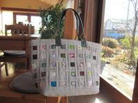 パッチワーク 『サンプラーのバッグ』』 - スギスイ☆パッチワーク教室『パステル』