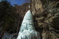 三滝山大禅の滝氷柱 - オーナーズブログ・八ケ岳南麓は晴れています!