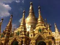 ミャンマーらしくとても暑い日に、ヤンゴン最大のみどころ、シュエダゴォン・パゴダを見学します! - せっかく行く海外旅行のために