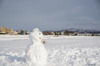 雪だるま - 今日の空+α2