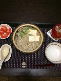ごま豆乳鍋 - 新米主婦のお料理日記〜