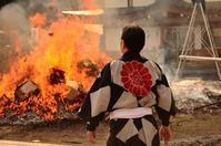 2018,1,15 広島護国神社とんど焼きその4 - 死すべきキモオタ~或いは怠惰な脂肪の塊~