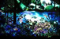 【新講座】秋山実の切り絵 光染め - ヴォーグ学園心斎橋校ブログ
