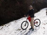 こないだ雪見に - おもいでは自転車とともに