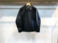 semoh leather blouson - Lapel/Blog