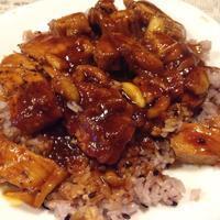 ポークチャップ飯鶏でも美味いよ - 線路マニアでアコースティックなギタリスト竹内いちろ@三重/四日市
