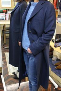 cashmere x Chesterfield Coat - BISYUYA BLOG