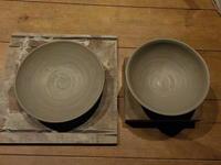皿と茶碗 - 冬青窯八ヶ岳便り