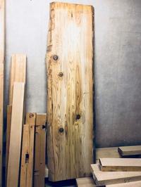 杉のカウンター天板と定休日のお知らせ - 鏑木木材株式会社 ブログ