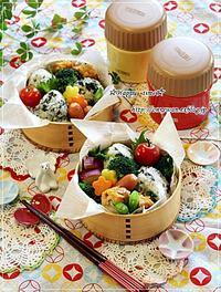 おでんと韓国のりおむすび弁当と今日のわんこと♪ - ☆Happy time☆