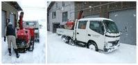 雪下ろしⅢ - 小宮山建築通信