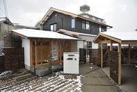 「吉野の製材所さんとの協働の家」 完成写真 - 無垢の木の家・古民家再生・新築、リフォーム 「ツキデ工務店」