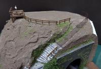 レイアウトに挑戦!(ホ)~ 30.展望台を作る(2) - 【趣味なんだってば】 鉄道模型とジオラマの製作日記
