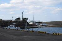 湯の浜漁港 - 三宅島風景