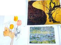 本日「日本の絵具で描こう」です☆ - 絵画教室アトリえをかく