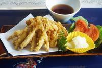 ■一人ランチ【ワカサギと南瓜の天ぷら】 - 「料理と趣味の部屋」