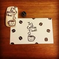 消しゴムはんこ*It's Coffee Time! - kedi*kedi