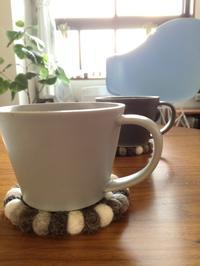 新しいマグカップとタオル。 - *peppy days*
