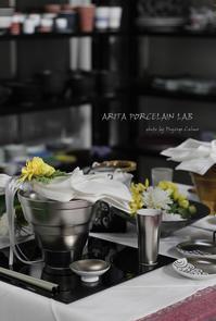 テーブルウェアフェスティバル:明日は薫子先生のトークショー♪ - フランス菓子教室 Paysage Calme
