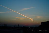 飛行機雲 - BobのCamera