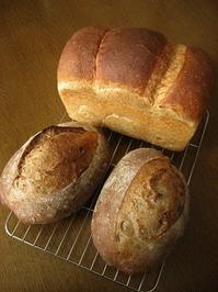 くるみのカンパーニュほか - slow life,bread life