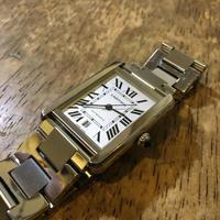 CARTIER TANK SOLO XL カルティエ タンク ソロ 自動巻き腕時計の修理 - トライフル・西荻窪・時計修理とアンティーク時計の店