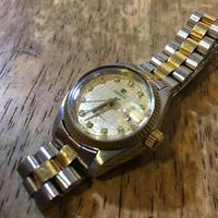 TISSOT ティソレディース自動巻き腕時計の修理 - トライフル・西荻窪・時計修理とアンティーク時計の店
