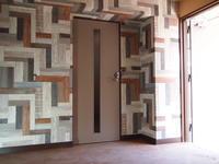 只今!リノベーション工事は木製建具取付けに。。 - 一場の写真 / 足立区リフォーム館・頑張る会社ブログ