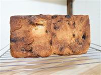 焦げパン(ぶどう角食パン)とフルーツサンドココアシフォン - 笑門来福な日々。