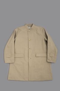STILL BY HAND  Stand Collar Coat (Beige) - un.regard.moderne