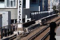 浜松町駅 京浜東北線(品川駅方面)3kmポスト - Fire and forget