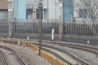 京浜東北線(品川駅方面)4kmポスト - Fire and forget