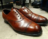 【EDWARD GREEN】磨き上げたエドワードグリーンは格別のツヤ感です - シューケアマイスター靴磨き工房 銀座三越店