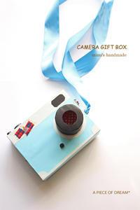 【100均リメイク】思い出フォトいっぱい詰め込んだ「お菓子カメラ」をDIY - a piece of dream* 植物とDIYと。