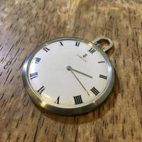 CORUMコルム手巻き式懐中時計の修理 - トライフル・西荻窪・時計修理とアンティーク時計の店