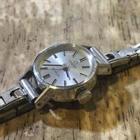 オメガデビル手巻きレディース腕時計の修理 - トライフル・西荻窪・時計修理とアンティーク時計の店