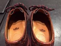 靴の中のお手入れ - ルクアイーレ イセタンメンズスタイル シューケア&リペア工房<紳士靴・婦人靴のケア&修理>
