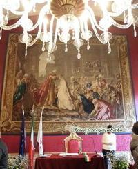 ベッキオ宮殿の赤の間 - フィレンツェ目安箱