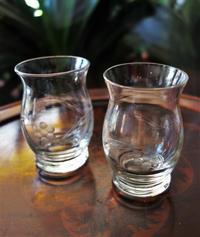吹きガラスカット入りグラス84.   sold out! - スペイン・バルセロナ・アンティーク gyu's shop