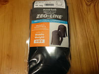 MONT-BELL ZEO-LINE M.W. CYCLE UNDER SHIRT - 琵琶湖 FREERIDE WEB from LAKE BIWA JAPAN