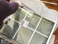 輸入サッシのガラス交換 - 只今建築中
