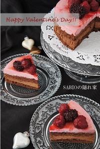 チョコレート&ラズベリーのケーキ - SABIOの隠れ家