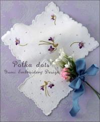 Viola - polka dots