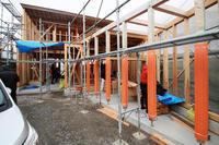 木組みの家の棟上げでした! - プロトハウス通信