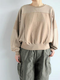blurhms French Terry French Switchover Wide L/S (LADIES ONLY) - 『Bumpkins putting on airs』