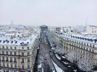 雪のパリ Paris sous la neige - France33
