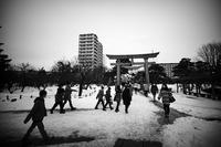 凍結の街で 43 - Yoshi-A の写真の楽しみ